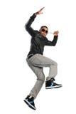 Afroamerikaner-Hip Hop-Tänzer lizenzfreies stockbild
