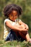Afroamerikaner-Kind Stockfotografie