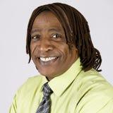 Afroamerikaner-Mann lizenzfreies stockbild