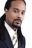 Afroamerikaner-Mannesbaumuster Lizenzfreies Stockfoto