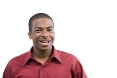 Afroamerikaner-Mannesbaumuster Stockfotos