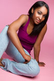 Afroamerikaner-Mädchen Lizenzfreie Stockfotografie