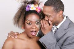 Afroamerikaner-Paare Stockbilder