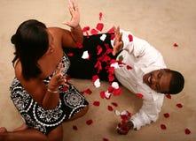Afroamerikaner-Paare Stockfotos