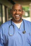 Afroamerikanerdoktor Lizenzfreie Stockbilder