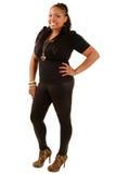 Afroamerikanerfrau stockbild