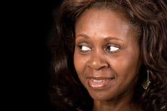 Afroamerikanerfrau lizenzfreie stockbilder