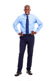 Afroamerikanergeschäftsmann Lizenzfreie Stockfotos