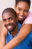 Afroamerikanerpaare Lizenzfreies Stockbild