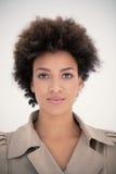 afroamerykańska kobieta Obrazy Royalty Free