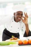 Afrochef köstlich Stockfoto