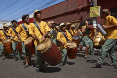 Afrodescendiente Dance Group - Arica, Chile stock image