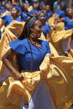Afrodescendiente Dance Group - Arica, Chile Stock Photo