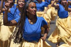 Afrodescendiente Dance Group - Arica, Chile Royalty Free Stock Photos