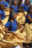 Afrodescendiente Dance Group - Arica, Chile Royalty Free Stock Photo