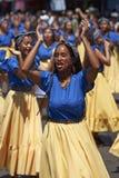 Afrodescendiente dansgrupp - Arica, Chile Royaltyfri Bild