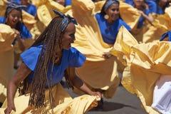 Afrodescendiente tana grupa - Arica, Chile Obraz Stock