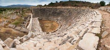 Afrodisias anfi theatre Stock Photos