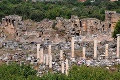 Afrodisias/Aphrodisias forntida stad, Turkiet arkivfoto