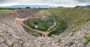 Afrodisias historical stadium Stock Photos