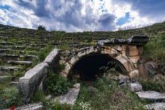 Afrodisias stadium gladiatora wyjścia brama Obrazy Stock
