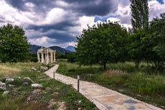 Afrodit-Tempel stockbild