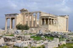 Afroditis-Tempel in Athen Stockbilder