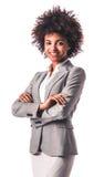 Afroe-amerikanisch Geschäftsfrau stockfotografie