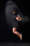 Afroer-amerikanisch Tänzer stockbilder