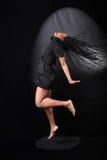 Afroer-amerikanisch Tänzer stockbild