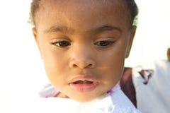 afrrican amerykańskiego dziecka piękny puszka target310_0_ Obrazy Stock