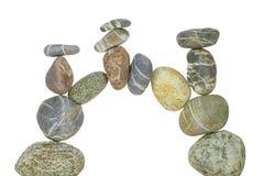 700 Afryce łękowatych granitów Namibia spitzkoppe milionów więcej niż rok starych kamieni Obrazy Royalty Free