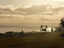 afryce kanonkop słynnych góry do południowego malowniczego winnicę wiosna Zdjęcie Royalty Free
