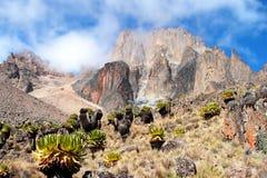 afryce Kenya góry Zdjęcia Royalty Free