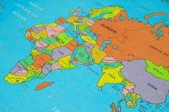 afryce mapy układanki Obrazy Stock
