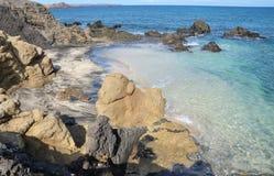 afryce Morocco oceanu brzegowe atlantyckie skał Fotografia Royalty Free
