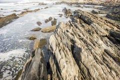 afryce Morocco oceanu brzegowe atlantyckie skał Obrazy Stock