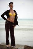 afryce plaży na północ Zdjęcia Royalty Free