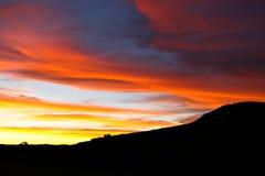 afryce słońca Obraz Royalty Free