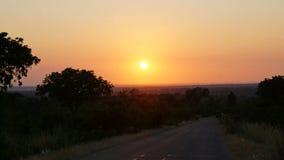 afryce wschód słońca Obraz Stock