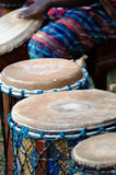 afrykańscy bębeny Obrazy Royalty Free