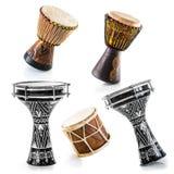 Afrykańscy bębeny Zdjęcie Royalty Free