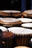 afrykańscy bębeny Fotografia Royalty Free