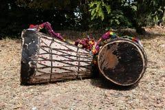 Afrykańscy bębeny, Etiopia Zdjęcia Stock