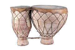 Afrykańscy bongo bębeny Obraz Royalty Free