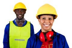 afrykańscy budowniczowie fotografia stock