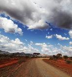 afrykańscy krajobrazy Obrazy Royalty Free