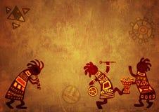 afrykańscy krajowi wzory royalty ilustracja