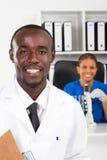 afrykańscy naukowowie obrazy stock