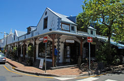 Afrykańscy prezentów sklepy, Stellenbosch, Południowa Afryka obrazy royalty free